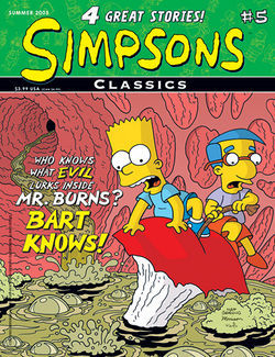Simpsons Comics, #8 by Matt Groening, Tim Bavington, Bill Morrison, Gary Glasberg, Steve Vance, Luis Escobar, Nathan Kane