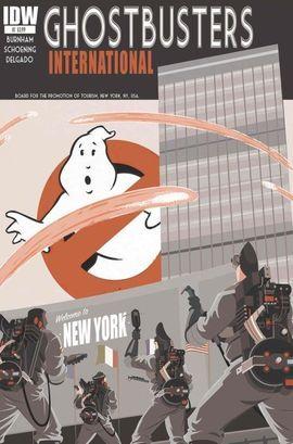 Ghostbusters International by Erik Burnham