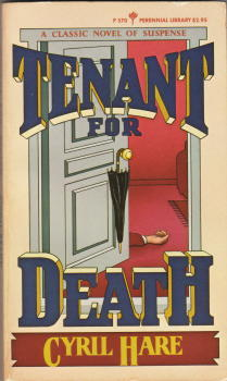 Tenant for Death by Cyril Hare