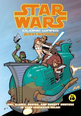 Star Wars: Clone Wars Adventures, Vol. 10 by Matt Fillbach, Shawn Fillbach, Jason Hall, Michael Heisler, Chris Avellone