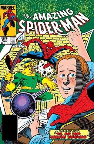 Amazing Spider-Man (1963-1998) #248 by Christie Scheele, Roger Stern, Bob Sharen, Brett Breeding, Ron Frenz, Terry Austin, John Romita Sr., John Romita Jr.