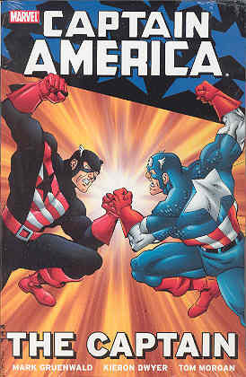 Captain America: The Captain by Mark Gruenwald, Tom Morgan, Kieron Dwyer