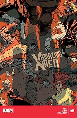 Amazing X-Men #16 by Christopher Yost, Jorge Fornes, Kris Anka