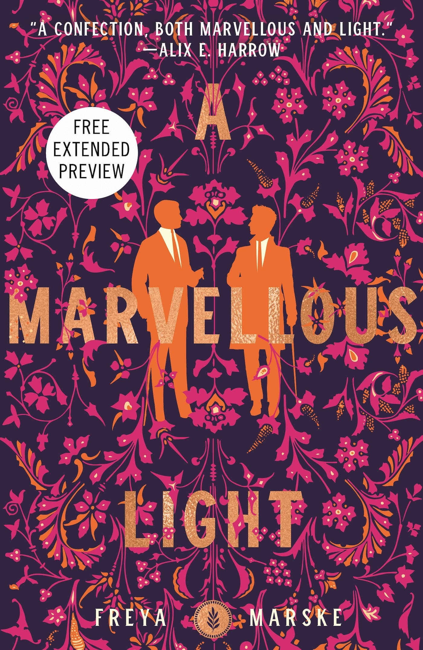 A Marvellous Light Sneak Peek by Freya Marske