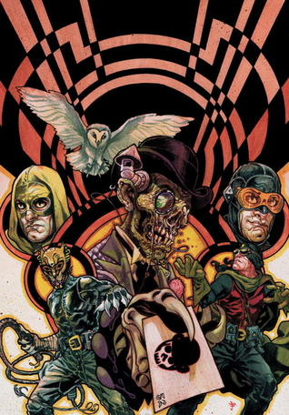 JSA Liberty Files: The Whistling Skull by B. Clay Moore