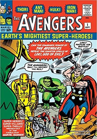 Avengers (1963-1996) #1 by Sam Rosen, Dick Ayers, Larry Lieber, Comicraft, Roger Stern, Paul Laiken, Roy Thomas, Bruce Timm, Stan Lee, Jack Kirby