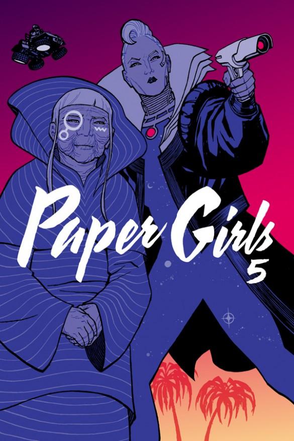 Paper Girls, Vol. 5 by Brian K. Vaughan