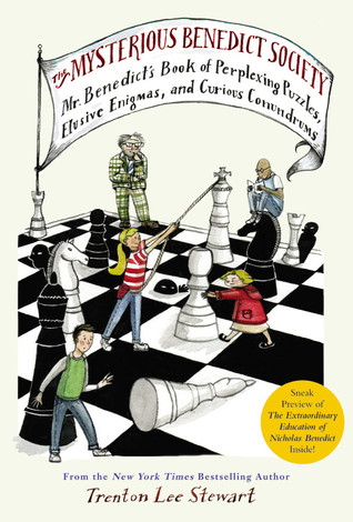 The Mysterious Benedict Society: Mr. Benedict's Book of Perplexing Puzzles, Elusive Enigmas, and Curious Conundrums by Trenton Lee Stewart, Diana Sudyka
