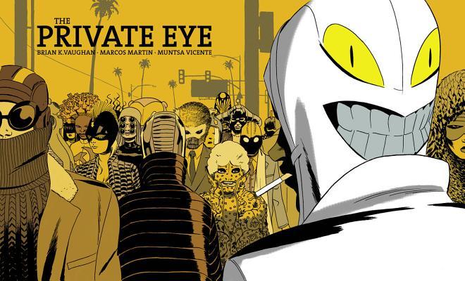 Private Eye by Brian K. Vaughan