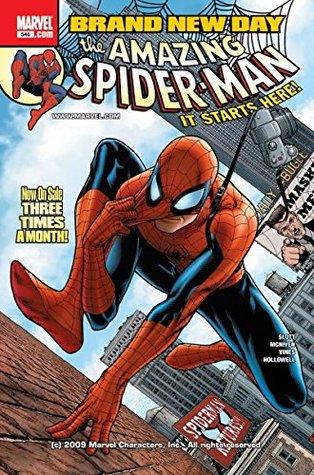 Amazing Spider-Man (1999-2013) #546 by Dexter Vines, Dan Slott, Steve McNiven, Morry Hollowell