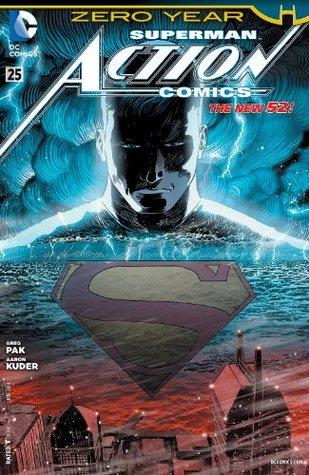 Action Comics #25 by Greg Pak, Scott McDaniel, Carlos M. Mangual, Arif Prianto, Aaron Kuder