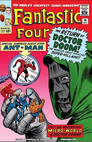 Fantastic Four (1961-1998) #16 by Dick Ayers, Stan Lee, Jack Kirby