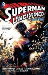 Superman Unchained, Deluxe Edition by Dustin Nguyen, Jim Lee, Alex Sinclair, Scott Williams, Scott Snyder, Sal Cipriano, John Kalisz