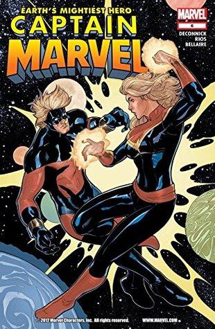 Captain Marvel (2012-2013) #6 by Emma Ríos, Alvaro Lopez, Kelly Sue DeConnick, Jordie Bellaire, Joe Caramagna, Emma Rios