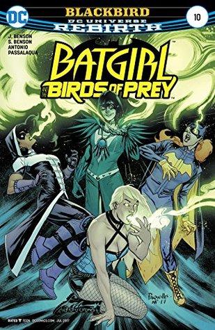 Batgirl and the Birds of Prey #10 by Allen Passalaqua, Shawna Benson, Julie Benson, Roge Antonio, Yanick Paquette, Nathan Fairbairn