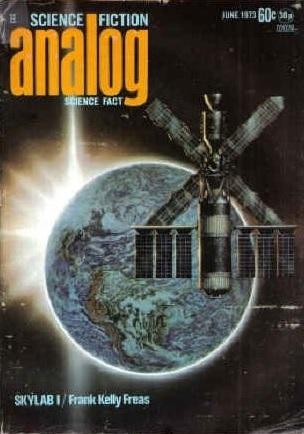 Analog Science Fiction and Fact, June 1973 by Laurence M. Janifer, Frank Kelly Freas, Bernard Deitchman, Jerry Pournelle, Ben Bova, Robert A. Heinlein, Saul Snatsky