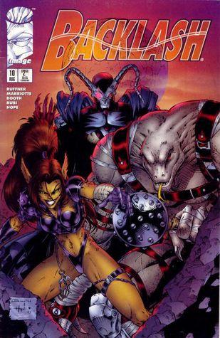 Backlash #10 (Backlash Volume 1, #10) by Mel Rubi, Jeff Mariotte, Sean Ruffner, Brett Booth