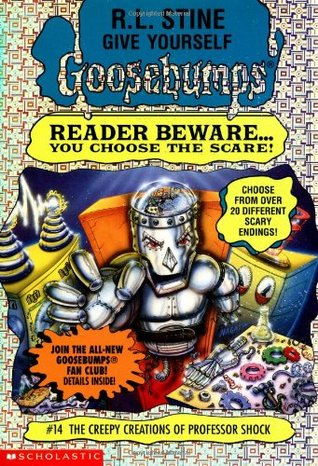 The Creepy Creations of Professor Shock by R.L. Stine