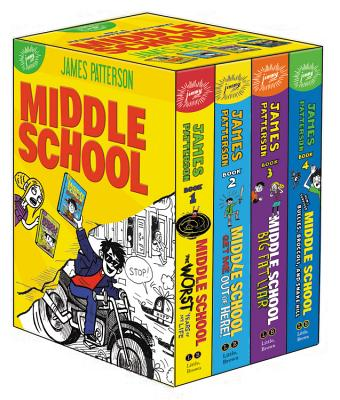 Middle School Box Set by Laura Park, James Patterson, Chris Tebbetts