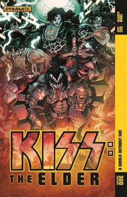 Kiss: The Elder, Volume 1 by Kewber Baal, Amy Chu