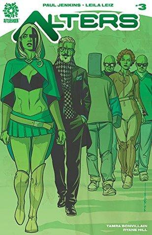 Alters #3 by Paul Jenkins, Tamra Bonvillain, Leila Leiz