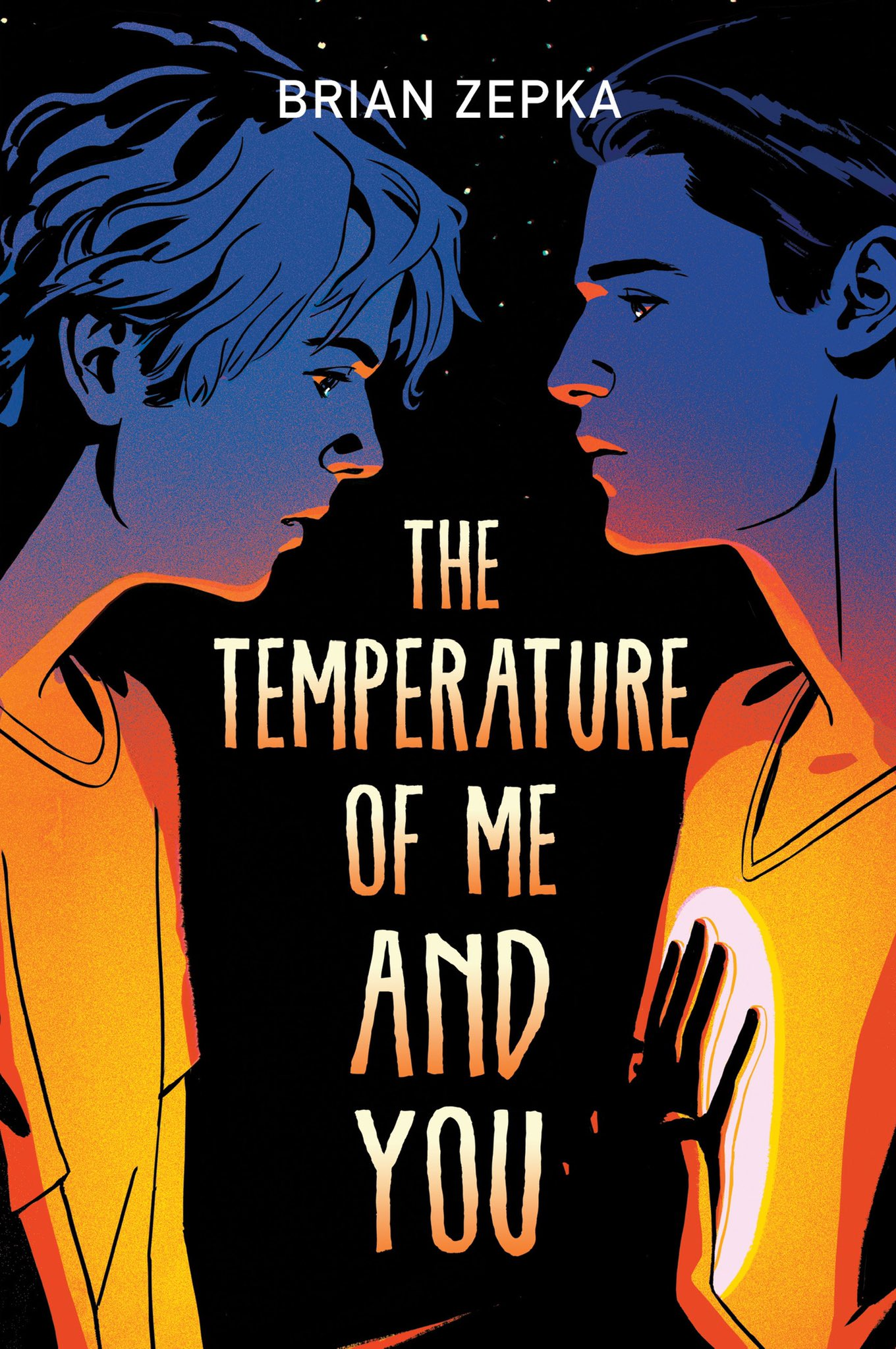 The Temperature of Me and You by Brian Zepka