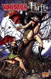 Vampirella vs. Fluffy by Cezar Razek, Mark Rahner