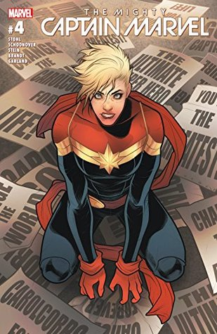 The Mighty Captain Marvel #4 by Elizabeth Torque, Ro Stein, Margaret Stohl, Ted Brandt, Brent Schoonover