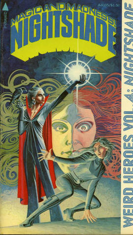Weird Heroes: Nightshade by Rudy D. Nebres, Tappan King, Byron Preiss