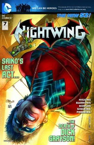 Nightwing #7 by Kyle Higgins, Eddy Barrows, Geraldo Borges