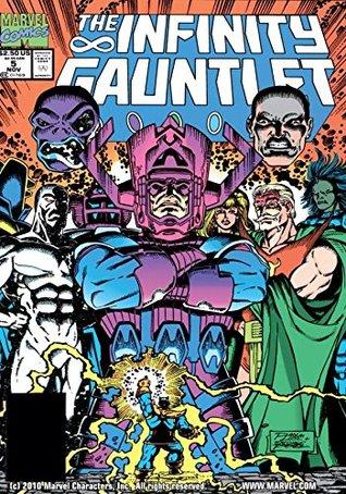 Infinity Gauntlet #5 by Christie Scheele, George Pérez, Ian Laughlin, Jim Starlin, Joe Rubinstein, Ron Lim