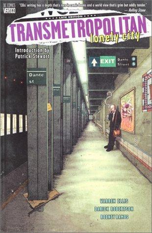 Transmetropolitan, Vol. 5: Lonely City by Rodney Ramos, Patrick Stewart, Warren Ellis, Darick Robertson