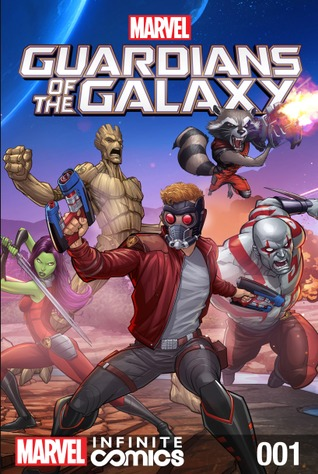 Marvel Universe Guardians of the galaxy Infinite Universe #1 by Mairghread Scott, Luciano Vecchio