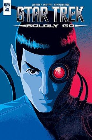 Star Trek: Boldly Go #4 by George Caltsoldas, Tony Shasteen, Mike Johnson