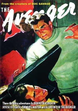 The Avenger Vol. 8: House of Death & The Hate Master by Bruce Elliot, Kenneth Robeson, Emile Tepperman, Paul Ernst, Will Murray