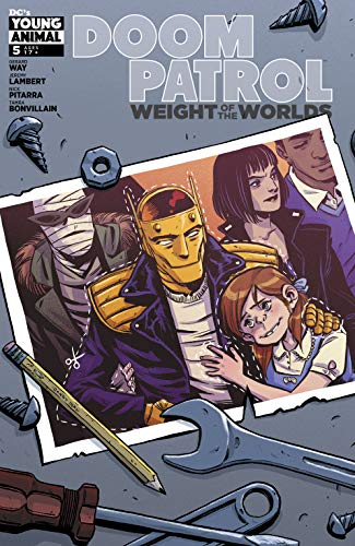 Doom Patrol: Weight of the Worlds #5 by Michael Conrad, Becky Cloonan, Tamra Bonvillain