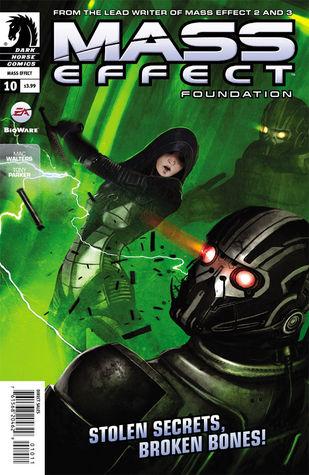 Mass Effect Foundation #10 by Mac Walters, Benjamin Carré, Michael Atiyeh, Tony Parker, Michael Heisler