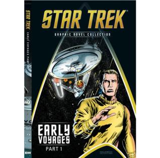 Early Voyages Part 1 by Patrick Zircher, Steve Moncuse, Dan Abnett, Greg Adams, Len Wein, Javier Pulido, Ian Edginton, Michael Collins, Alberto Giolitti