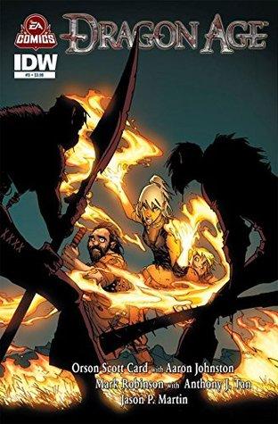 Dragon Age #3 by Jason P. Martin, Aaron Johnston, Mark Robinson, Orson Scott Card, Humberto Ramos, Anthony J. Tan