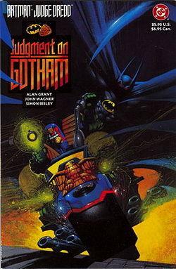 Batman/Judge Dredd: Judgment on Gotham by Alan Grant, John Wagner, Simon Bisley