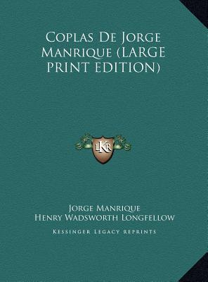 Coplas de Jorge Manrique by Henry Wadsworth Longfellow, Jorge Manrique