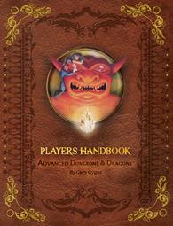 AD&D 1st Edition Premium Player's Handbook by Gary Gygax