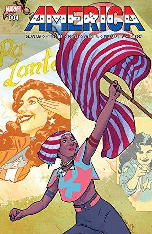 America #4 by Gabby Rivera, Joe Quinones, Joe Quiñones