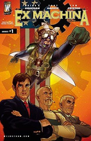 Ex Machina (2004-) #1 by Tony Harris, Brian K. Vaughan