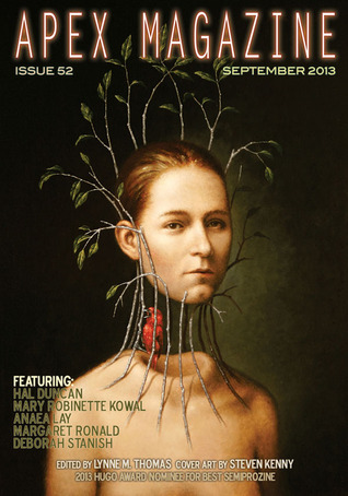 Apex Magazine Issue 52 (September 2013) by Hal Duncan, Mary Robinette Kowal, Anaea Lay, Maurice Broaddus, Lynne M. Thomas, Margaret Ronald