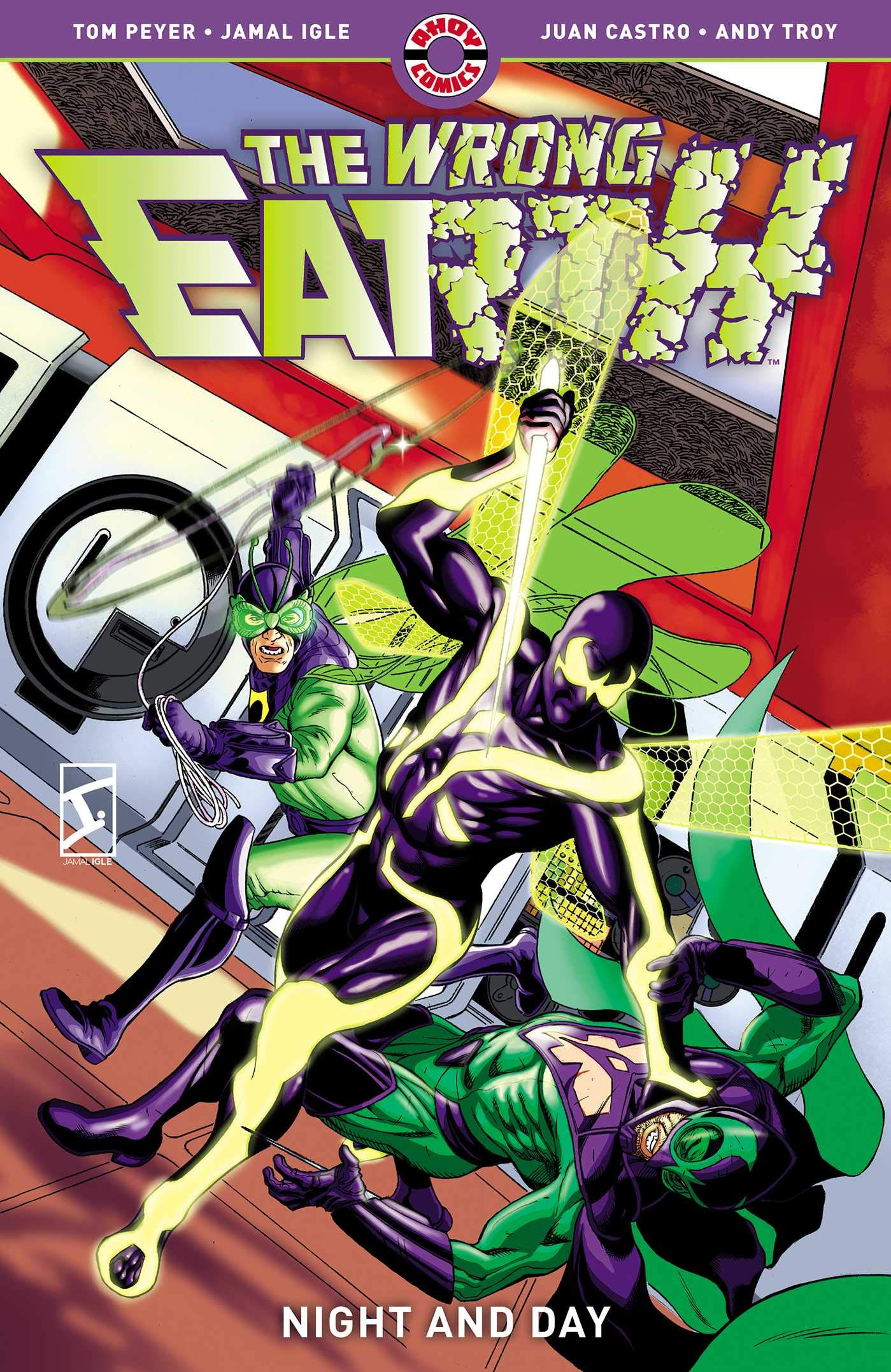The Wrong Earth: Night and Day by Juan Castro, Tom Peyer