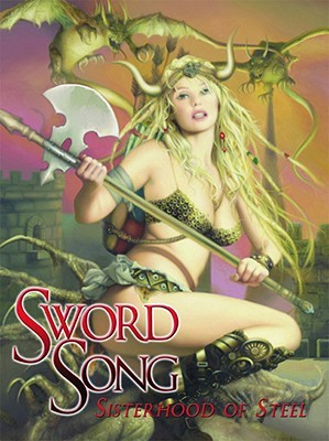 Sword Song: Sisterhood of Steel by James Hottinger, Blas Gallego, Steve Fastner, Arantza Sestayo, Daniel Horne, David Dunstan, Rich Larson