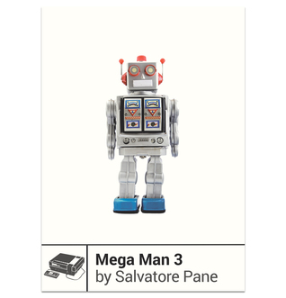 Mega Man 3 by Salvatore Pane