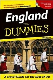 England for Dummies by Donald Olson