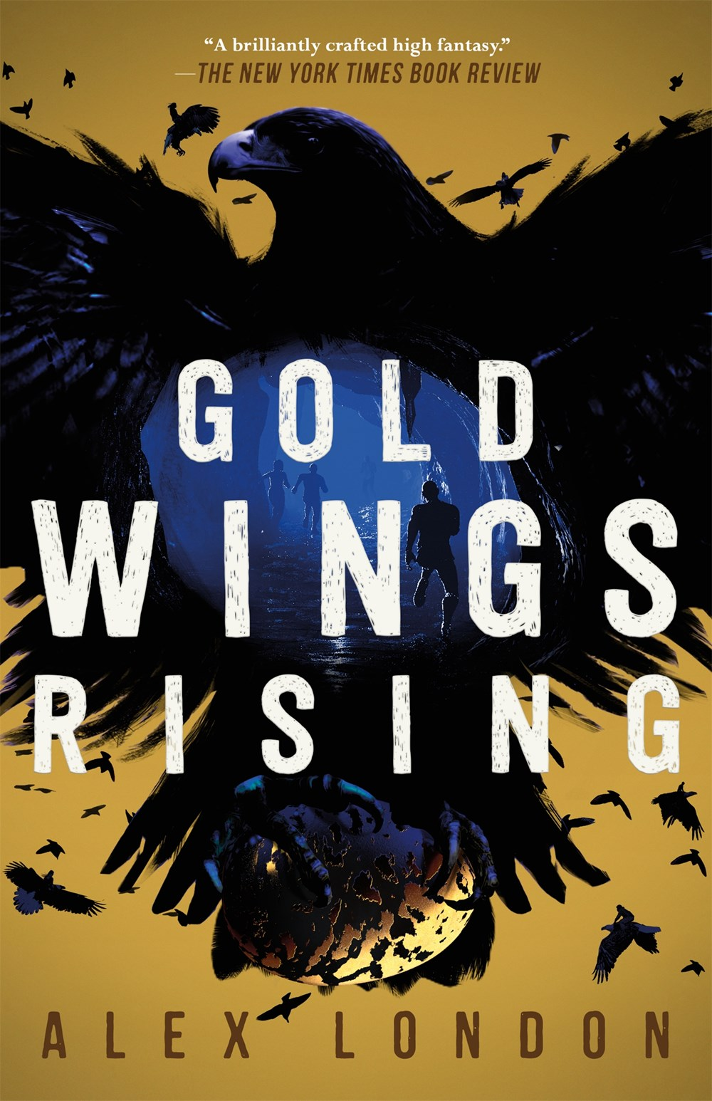 Gold Wings Rising by Alex London